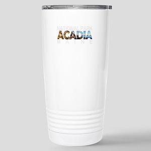 Acadia - Maine Stainless Steel Travel Mug