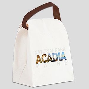 Acadia - Maine Canvas Lunch Bag