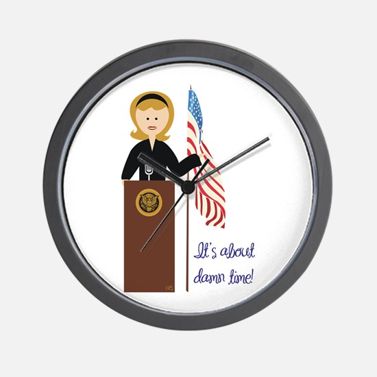 Election Equality! Hillary Wall Clock