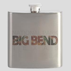 Big Bend - Texas Flask