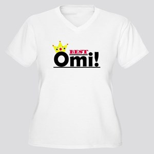 Best Omi Women's Plus Size V-Neck T-Shirt