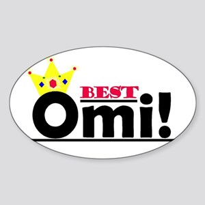 Best Omi Oval Sticker