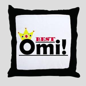 Best Omi Throw Pillow