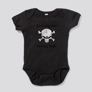 Kicking Ass Taking Naps Infant Bodysuit Body Suit