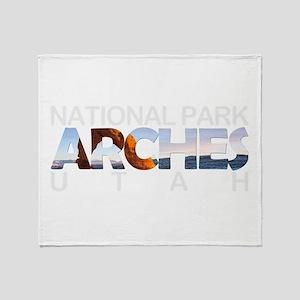 Arches - Utah Throw Blanket