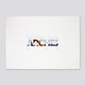 Arches - Utah 5'x7'Area Rug