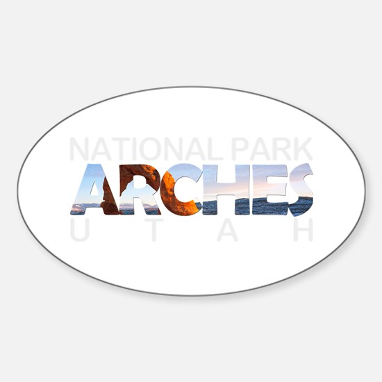 Arches - Utah Decal