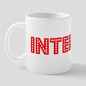 Retro Internist (Red) Mug