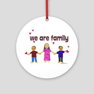 Family Ornament (Round)