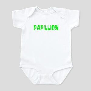 Papillion Faded (Green) Infant Bodysuit