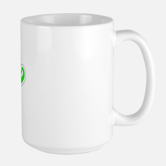 Retro Chico (Green) Large Mug