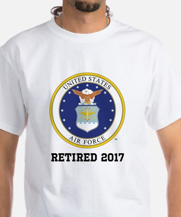 Personalized Air Force Retirement Gift T-Shirt