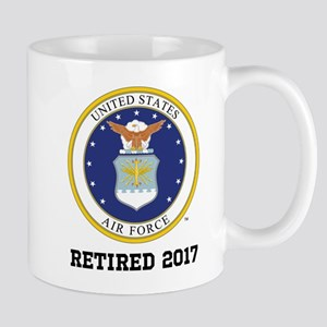 Personalized Air Force Retirement Gift Mugs