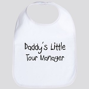 Daddy's Little Tour Manager Bib