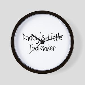 Daddy's Little Toolmaker Wall Clock