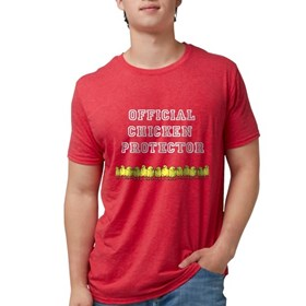 Official Chicken Protector Design T-Shirt