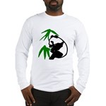 Single Panda Long Sleeve T-Shirt
