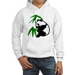 Single Panda Hooded Sweatshirt