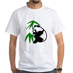 Single Panda White T-Shirt