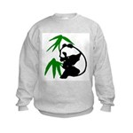 Single Panda Kids Sweatshirt