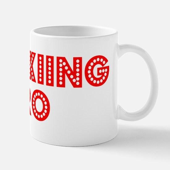 Retro Jet-skiing .. (Red) Mug