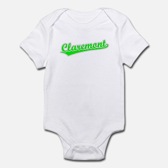 Retro Claremont (Green) Infant Bodysuit