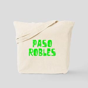 Paso Robles Faded (Green) Tote Bag