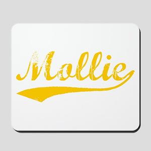 Vintage Mollie (Orange) Mousepad