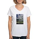 Chimney Pond Women's V-Neck T-Shirt