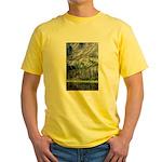 Chimney Pond Yellow T-Shirt
