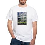 Chimney Pond White T-Shirt