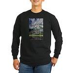 Chimney Pond Long Sleeve Dark T-Shirt
