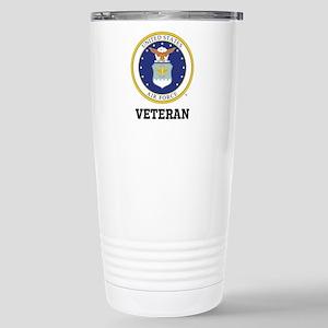 Personalized Air Force Veteran Travel Mug