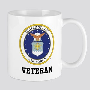 Personalized Air Force Veteran Mugs