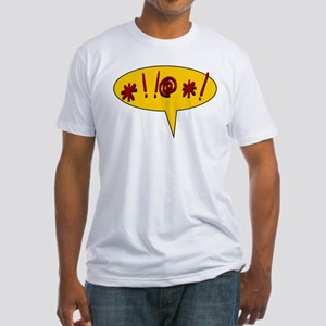 Curses! Fitted T-Shirt
