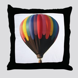Helaine's Hot Air Balloon 1 Throw Pillow