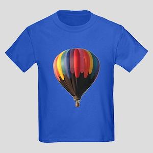 Helaine's Hot Air Balloon 1 Kids Dark T-Shirt