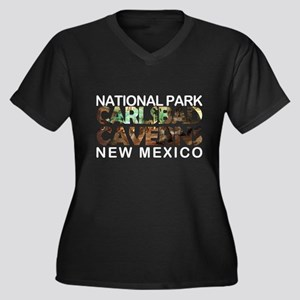 Carlsbad Caverns - New Mexico Plus Size T-Shirt