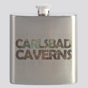 Carlsbad Caverns - New Mexico Flask