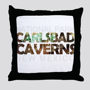 Carlsbad Caverns - New Mexico Throw Pillow