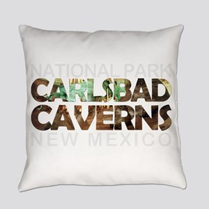 Carlsbad Caverns - New Mexico Everyday Pillow