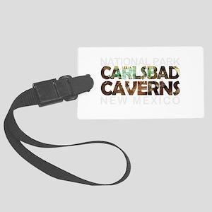 Carlsbad Caverns - New Mexico Large Luggage Tag