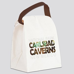 Carlsbad Caverns - New Mexico Canvas Lunch Bag
