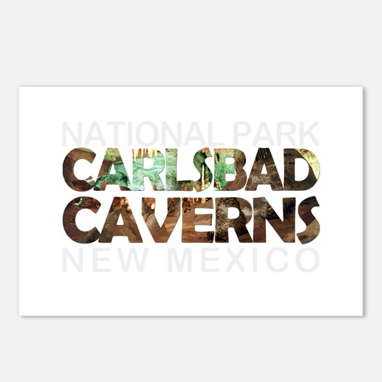 Carlsbad Caverns - New Me Postcards (Package of 8)