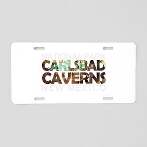 Carlsbad Caverns - New Mexi Aluminum License Plate