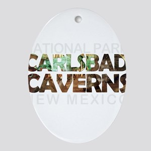 Carlsbad Caverns - New Mexico Oval Ornament