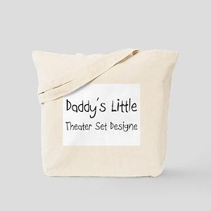 Daddy's Little Theater Set Designe Tote Bag