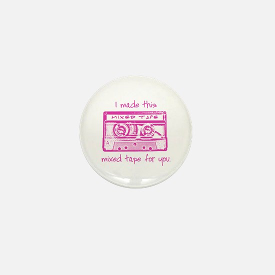 Cute Mixed tapes Mini Button