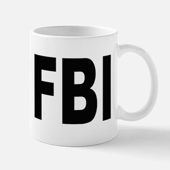 FBI Federal Bureau of Investigation Large Mugs