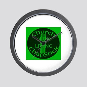 Round Church Logo Wall Clock